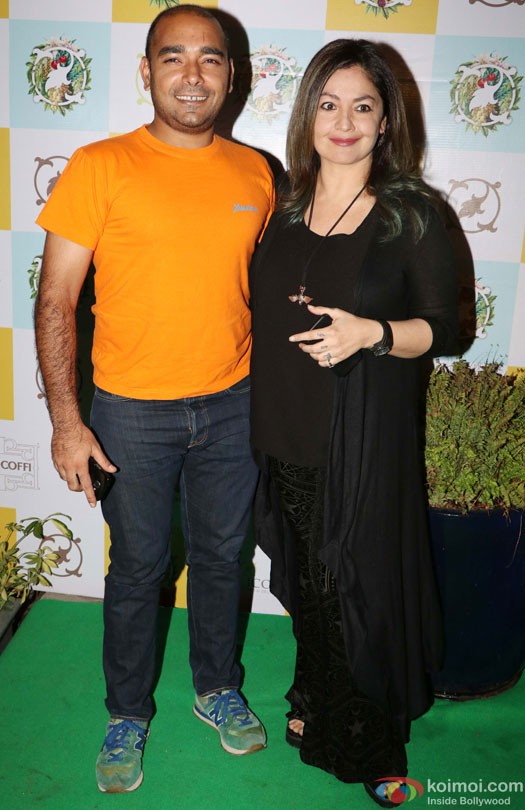 Pooja Bhatt during the Launch of Cafe Basilico