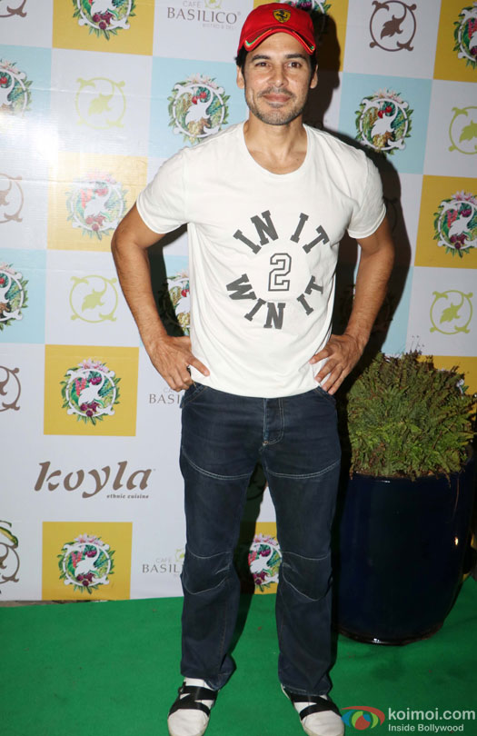 Dino Morea during the Launch of Cafe Basilico