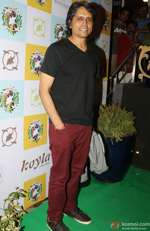 Nagesh Kukunoor during the Launch of Cafe Basilico