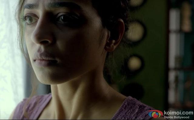 Radhika Apte in a still from movie Phobia