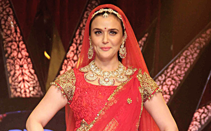 Preity Zinta's Grand Wedding Reception On 13th May