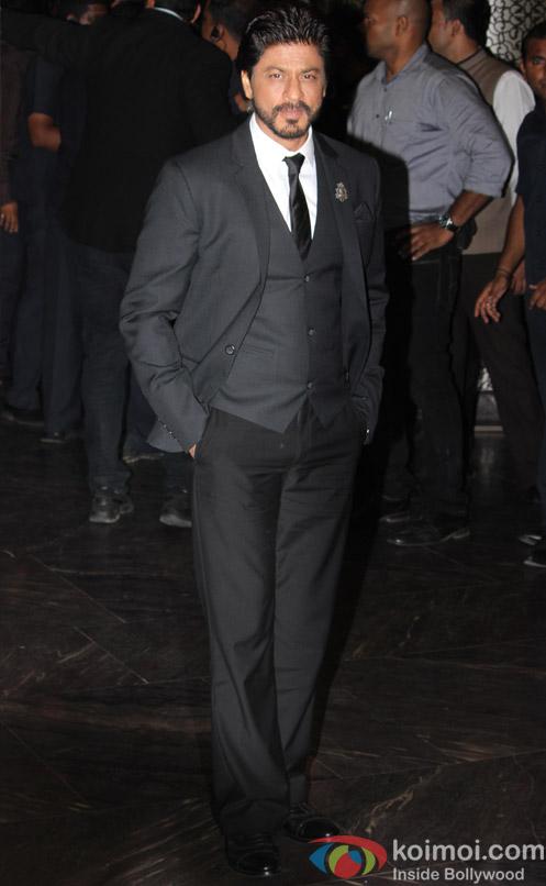 Shah Rukh Khan at Preity Zinta's wedding reception