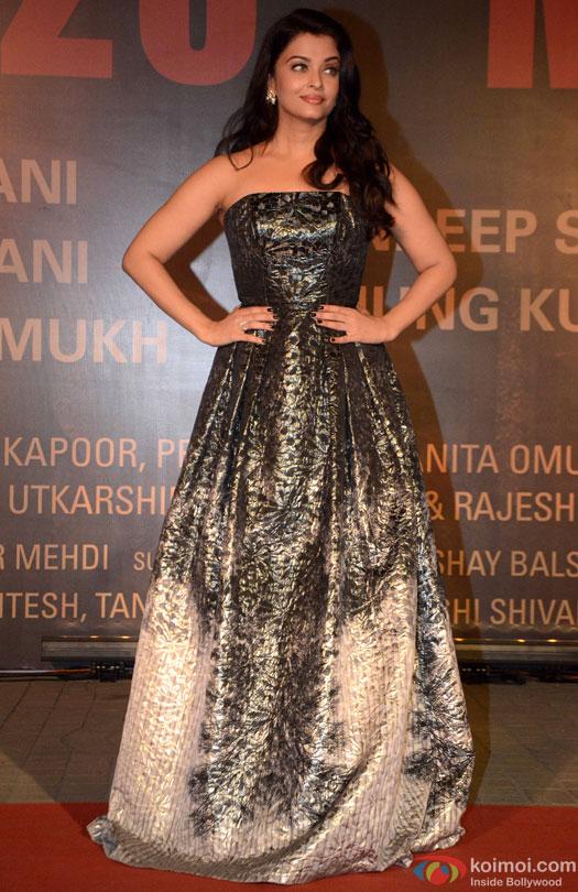Aishwarya Rai Bachchan during the Premiere Of Film 'Sarbjit'