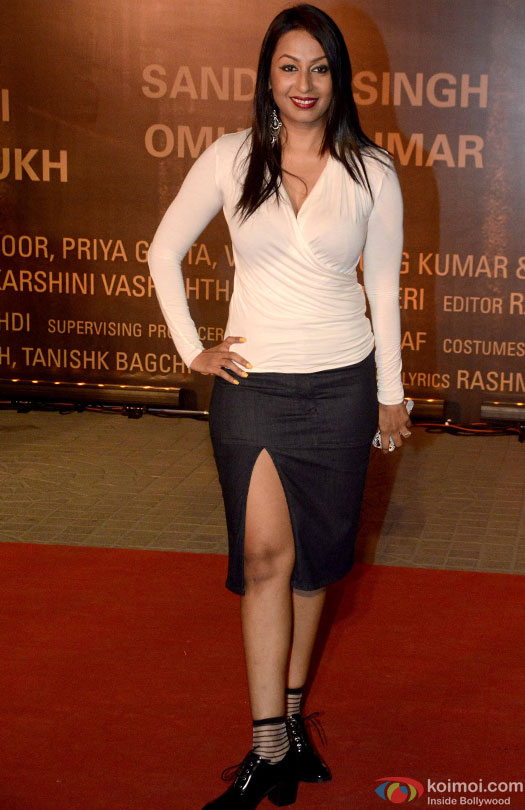 Kashmera Shah during the Premiere Of Film 'Sarbjit'