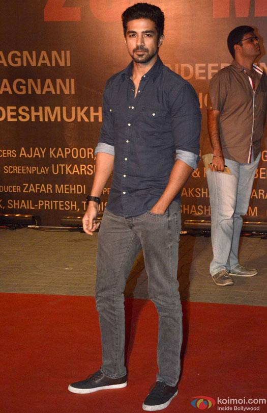 Saqib Saleem during the Premiere Of Film 'Sarbjit'