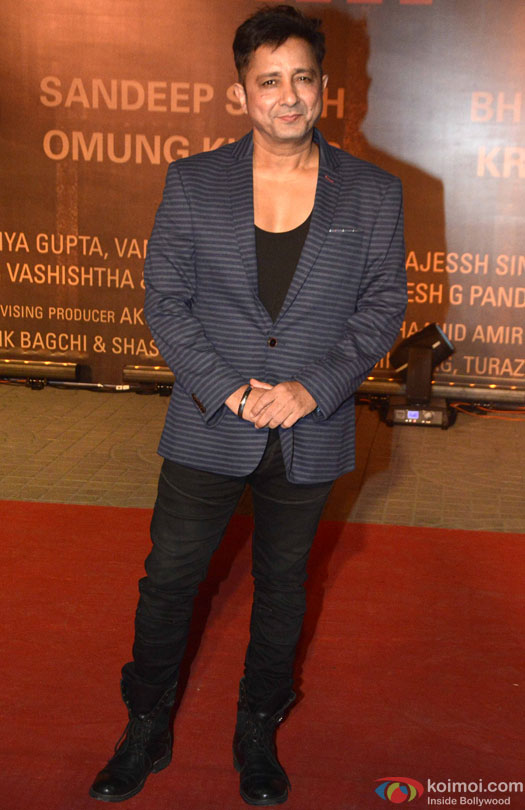 Sukhwinder Singh during the Premiere Of Film 'Sarbjit'