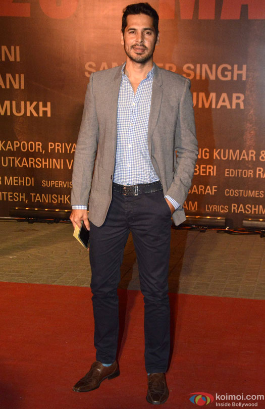 Dino Morea during the Premiere Of Film 'Sarbjit'