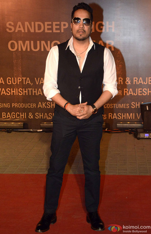 Mika Singh during the Premiere Of Film 'Sarbjit'