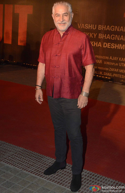 Dalip Tahil during the Premiere Of Film 'Sarbjit'
