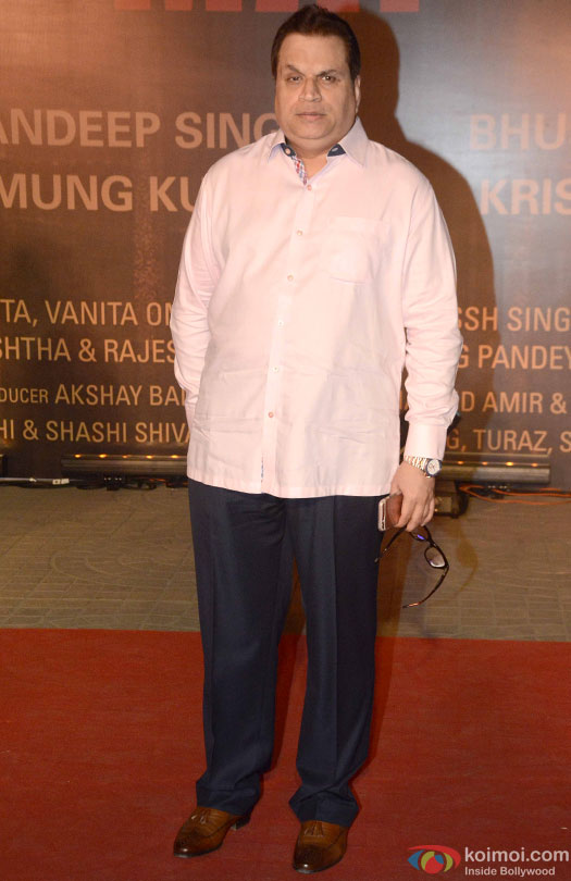 Ramesh Taurani during the Premiere Of Film 'Sarbjit'
