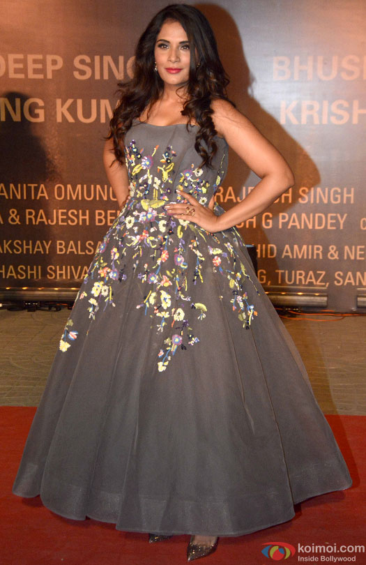 Richa Chadha during the Premiere Of Film 'Sarbjit'