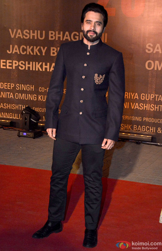Jackky Bhagnani during the Premiere Of Film 'Sarbjit'