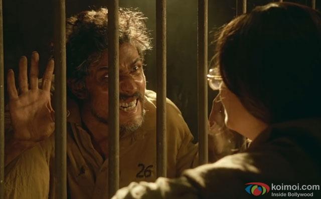 Randeep Hooda and Aishwarya Rai Bachchan in a still from movie Sarbjit