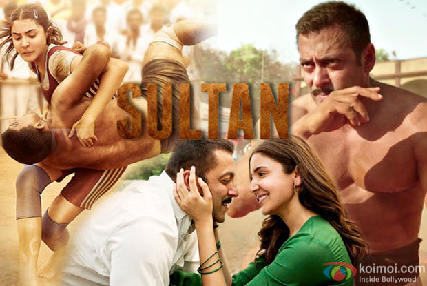 Salman Khan and Anushka Sharma in a still from Sultan