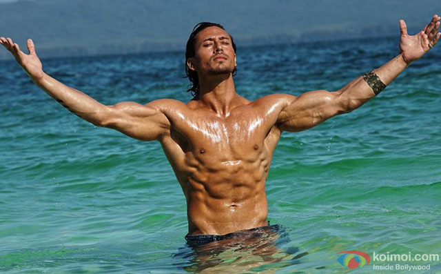 Tiger Shroff in a still from movie 'Baaghi'