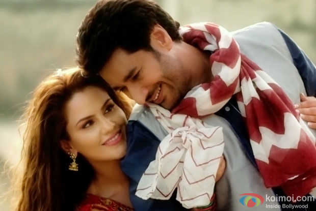 Harbhajan Mann & Kashish Singh in a Sajna song still from Saadey CM Saab