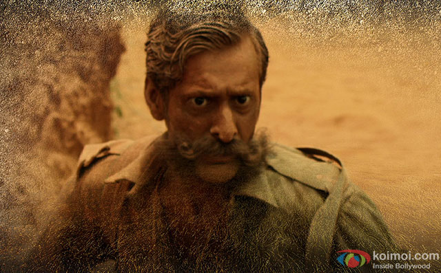 Sandeep Bhardwaj in a still from movie Veerappan