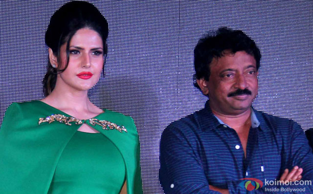 What Does RGV Love About The New 'Khallas' Girl Zareen Khan?