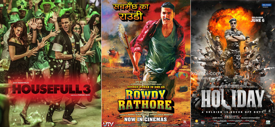 What's Common Between Akshay Kumar's Housefull 3, Rowdy Rathore & Holiday?