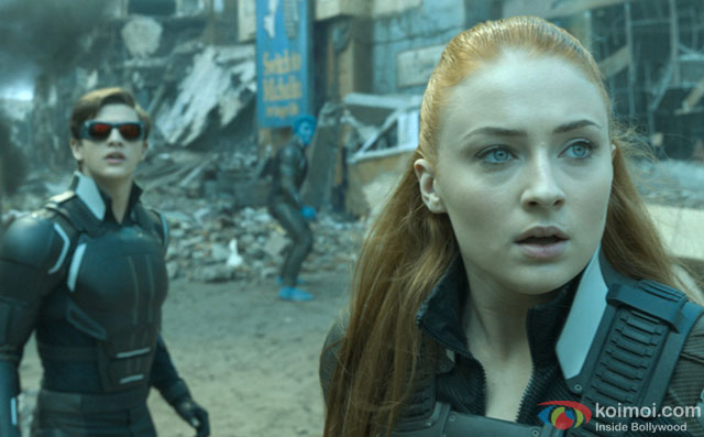 Kodi Smit-McPhee and Tye Sheridan in a still from movie 'X-Men: Apocalypse '