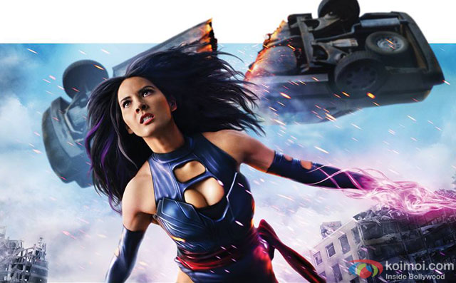 Olivia Munn in a still from movie X-Men: Apocalypse