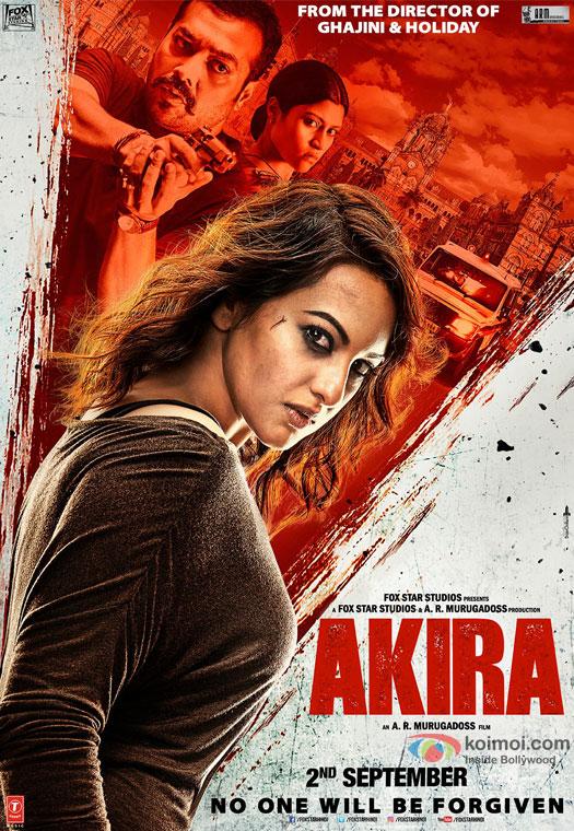 Sonakshi SInha starrer 'Akira' Movie Poster