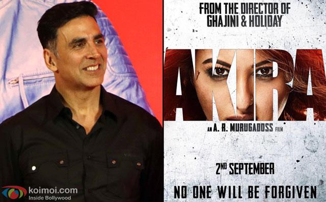 Akshay Kumar 'can't wait for' Sonakshi-starrer 'Akira'