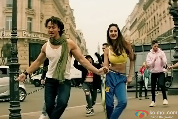 Watch Tiger Shroff & Disha Patani In Dance Mode In The New Teaser Of Befikra Song