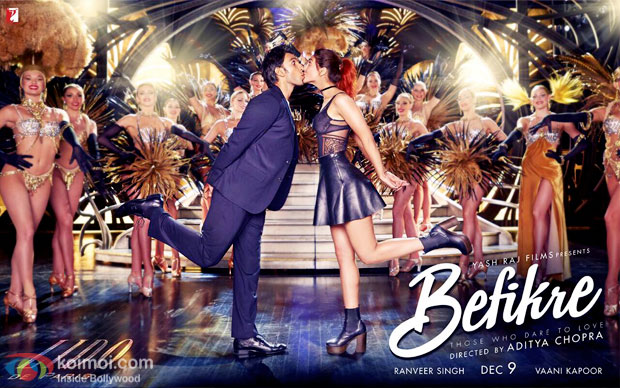 Befikre New Poster: Ranveer & Vaani Are Kissing...Again!