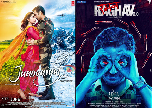 Box Office Predictions - Junooniyat, Raman Raghav 2.0