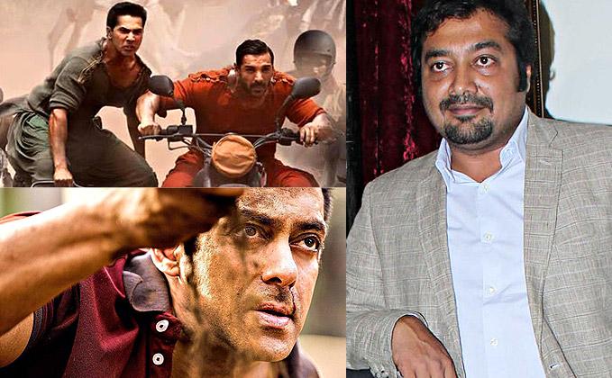 Can't make films like 'Sultan', 'Dishoom': Anurag Kashyap