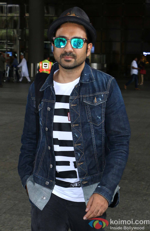 Vir Das at International Airport