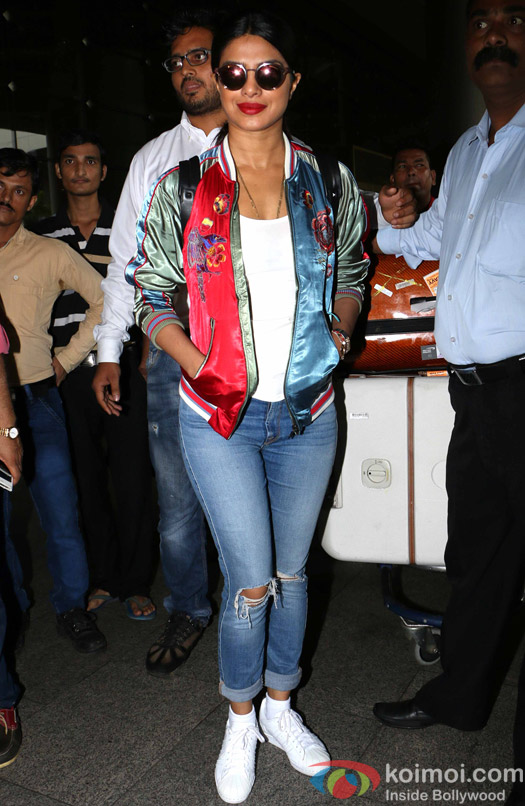 Priyanka Chopra at International Airport