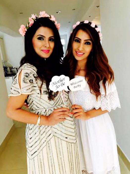 Geeta Basra's Baby Shower