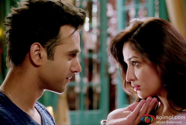 Pulkit Samrat and Yami Gautam in a JUNOONIYAT song still from Junooniyat