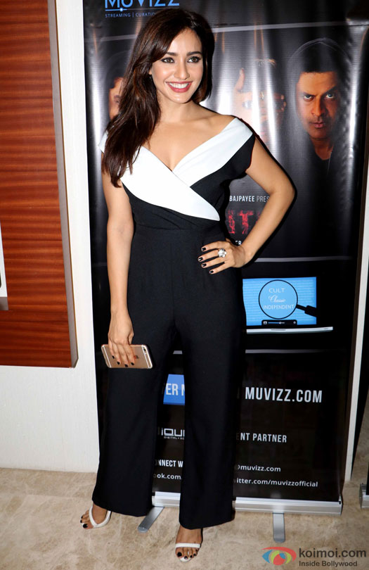 Neha Sharma during the world premiere of short film 'Kriti'