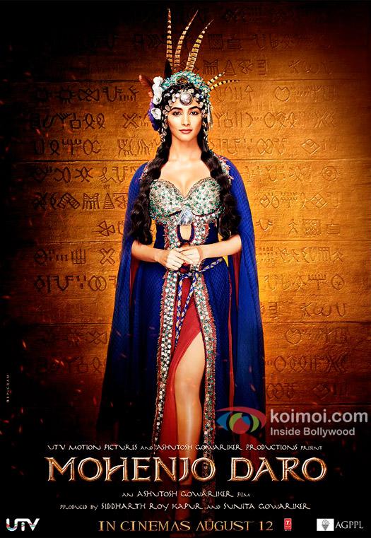 New look of Pooja Hedge In Mohenjo Daro