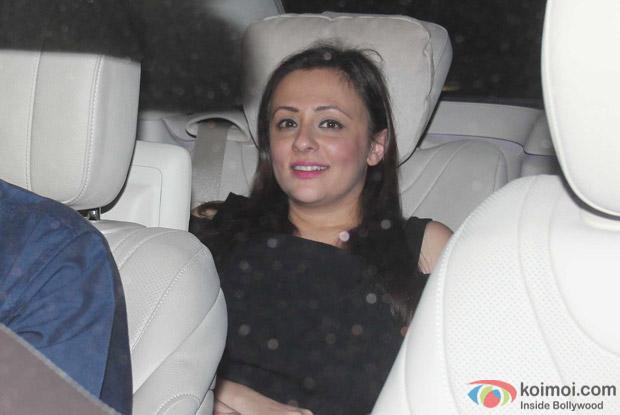 Avantika Malik Khan at Karan Johar's House