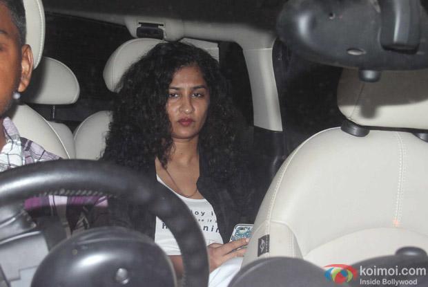 Gauri Shinde at Karan Johar's House