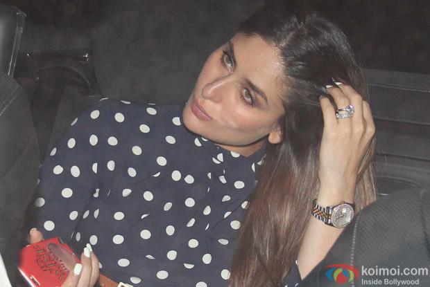Kareena Kapoor at Karan Johar's House