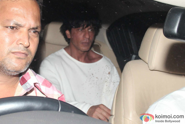 Shah Rukh Khan at Karan Johar's House