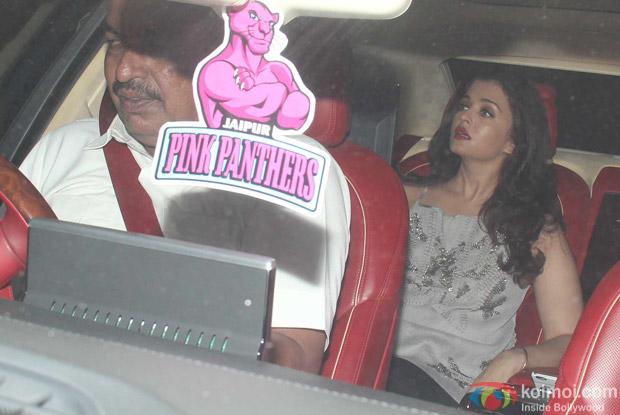 Aishwarya Rai Bachchan at Karan Johar's House
