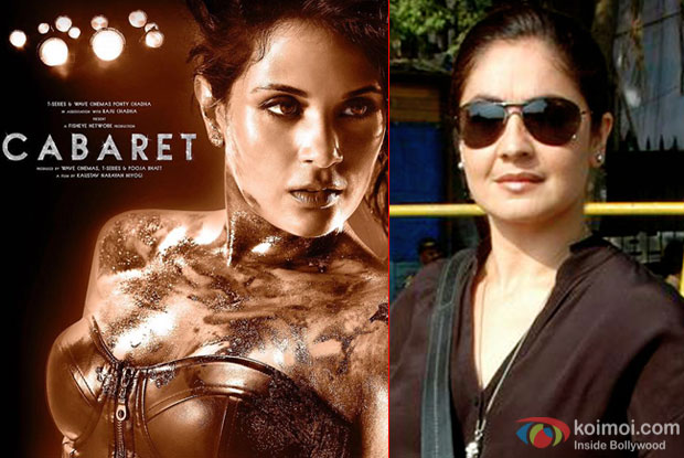 Pooja Bhatt fixing copyright issues for 'Cabaret' release