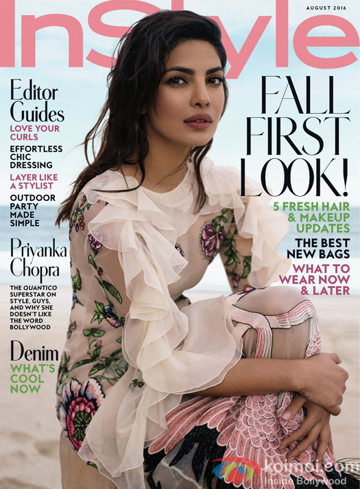 Priyanka Chopra On In Style Magazine