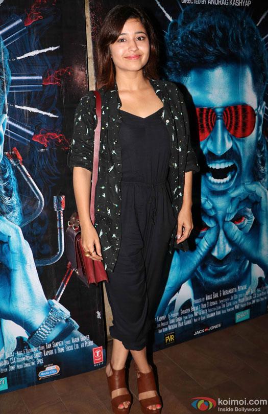 Shweta Tripathi during the special screening of film 'Raman Raghav 2.0'