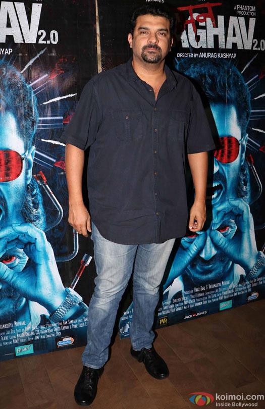 Siddharth Roy Kapur during the special screening of film 'Raman Raghav 2.0'