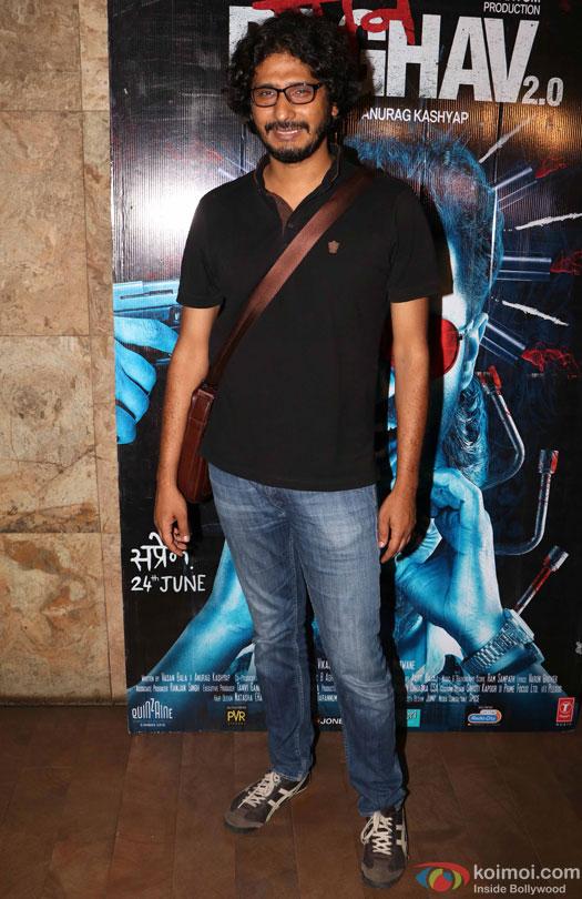 Abhishek Chaubey during the special screening of film 'Raman Raghav 2.0'