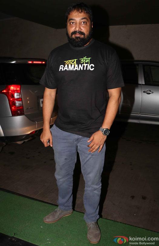 Anurag Kashyap during the special screening of film 'Raman Raghav 2.0'