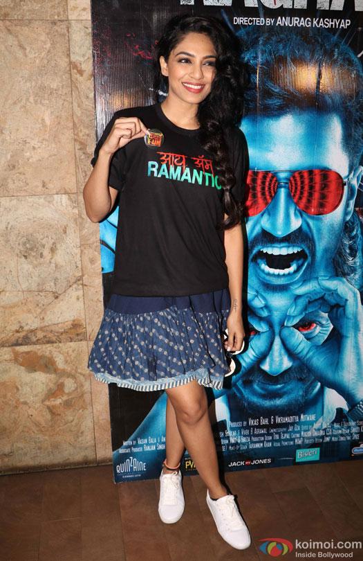 Sobhita Dhulipala during the special screening of film 'Raman Raghav 2.0'