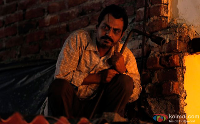 Nawazuddin Siddiqui in a still from movie 'Raman Raghav 2.0'